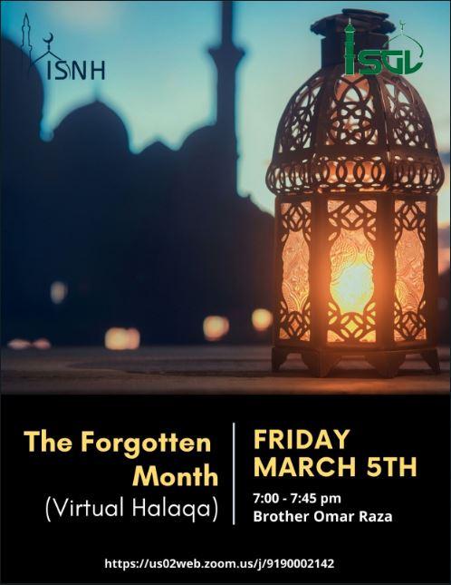 Halaqa - The Forgotten Month